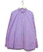 INDIVIDUALIZED SHIRTS(インディビジュアライズドシャツ)の古着「ボタンダウンシャツ」|ピンク