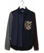 PENDLETON(ペンドルトン)の古着「アーバンパイオニアシャツ」 ネイビー