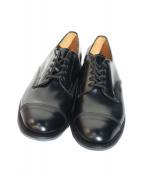 SANDERS(サンダース)の古着「Military Derby Shoe」|ブラック