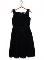 M-premier(エムプルミエ)の古着「ノースリーブワンピース」|ブラック