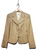 ARMANI COLLEZIONI(アルマーニコレツォーニ)の古着「テーラードジャケット」|ベージュ