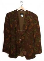 GIORGIO ARMANI(ジョルジオアルマーニ)の古着「総柄テーラードジャケット」|ブラウン