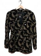ESCADA(エスカーダ)の古着「ノーカラージャケット」 ブラック