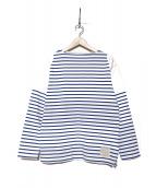 NIGEL CABOURN(ナイジェルケーボン)の古着「バスクシャツ」|ホワイト
