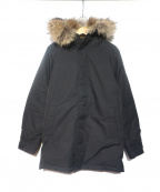 Pyrenex(ピレネックス)の古着「ANNECY FUR」|ブラック