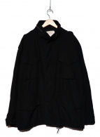VINTAGE MILITARY(ヴィンテージ ミリタリー)の古着「[古着]M65ジャケット」|ブラック