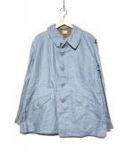 VINTAGE(ヴィンテージ)の古着「[古着]M59フィールドジャケット」|スカイブルー