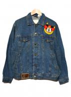 VINTAGE DISNEY(ヴィンテージ ディズニー)の古着「[古着]デニムジャケット」|インディゴ