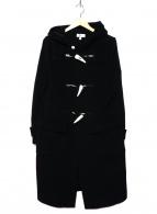 HYKE(ハイク)の古着「ロングダッフルコート」|ブラック
