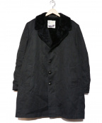 LONDON FOG(ロンドンフォグ)の古着「[古着]ギャングコート」 ブラック