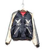 テーラー東洋(テーラートウヨウ)の古着「リバーシブルスカジャン / スーベニアジャケット」 ブラック