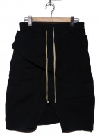 DRKSHDW(ダークシャドウ)の古着「メンフィスポッドサルエルハーフパンツ」 ブラック