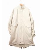 MR.COMPLETELY(ミスターコンプリートリー)の古着「タイプライターモッズコート」 グレー