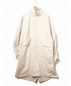 MR.COMPLETELY(ミスターコンプリートリー)の古着「タイプライターモッズコート」|グレー