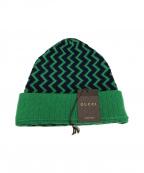 GUCCI(グッチ)の古着「ニット帽」|グリーン