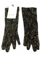 ()の古着「レース手袋」|ブラック