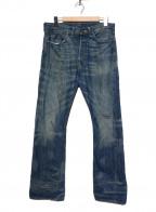 LEVIS VINTAGE CLOTHING(リーバイスヴィンテージクロージング)の古着「[古着]501XX復刻デニムパンツ」|インディゴ