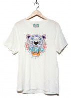 KENZO(ケンゾー)の古着「タイガープリントTシャツ」|ホワイト
