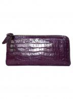 PELLE BORSA(ペレボルサ)の古着「長財布」 パープル
