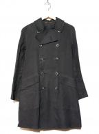 MACKINTOSH(マッキントッシュ)の古着「ゴム引きトレンチコート」|ブラック