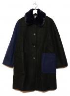 PS Paul Smith(ピーエスポールスミス)の古着「切替コート」|ブラック