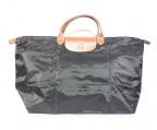 LONGCHAMP()の古着「ナイロントートバッグ」|ブラック