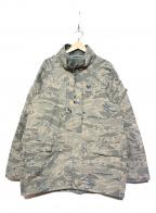 US ARMY(ユーエスアーミー)の古着「[古着]USAFデジタルタイガーゴアテックスパーカー」|グレー