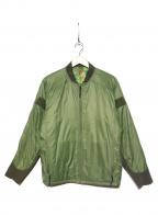 BURLAP OUTFITTER(バーラップアウトフィッター)の古着「MA-1ジャケット」|カーキ