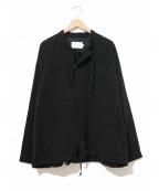 ANITYA(アニティア)の古着「コーデュロイミリタリースモック」|ブラック