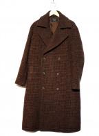 UNITED TOKYO(ユナイテッドトウキョウ)の古着「オーバーサイズダブルコート」|ブラウン