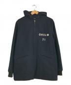 orSlow(オアスロウ)の古着「メルトンカデットコート」|ネイビー