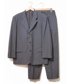 COMME des GARCONS HOMME(コムデギャルソンオム)の古着「3ボタンセットアップスーツ」|ネイビー
