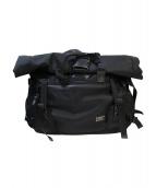 ASSOV(アッソブ)の古着「メッセンジャーバッグ」|ブラック