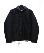 Buzz Ricksons×William Gibson(バズリクソンズ×ウイリアム ギブソン)の古着「デッキジャケット」 ブラック