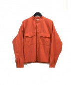 ATELIER BETON(アトリエベトン)の古着「ナイロンジャケット」 オレンジ