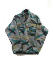 Patagonia(パタゴニア)の古着「フリースジャケット」 グレー×グリーン