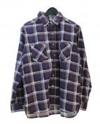 UNUSED×BEAMS(アンユーズド×ビームス)の古着「ネルシャツ」