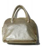 A.D.M.J.(エーディーエムジェイ)の古着「2WAYバッグ」 ゴールド