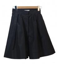 PRADA(プラダ)の古着「ナイロンタックスカート」|ブラック