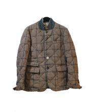 BAL(バル)の古着「キルティングジャケット」|ベージュ