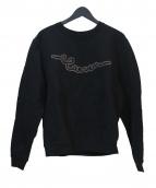CARVEN(カルヴェン)の古着「ロゴスウェット」 ブラック