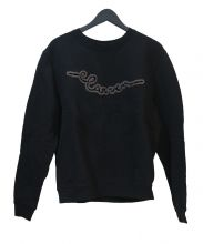 CARVEN(カルヴェン)の古着「ロゴスウェット」|ブラック