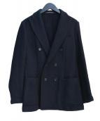 ETONNE(エトネ)の古着「ポリエステルジャガードダブルブレストジャケット」
