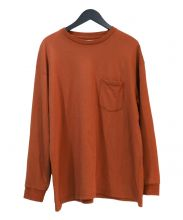 Graphpaper(グラフペーパー)の古着「L/S Pocket Sweat Tee」