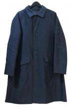 Scye(サイ)の古着「ステンカラーコート」|ネイビー