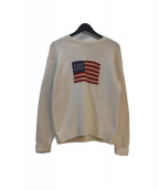 POLO RALPH LAUREN(ポロ バイ ラルフローレン)の古着「星条旗セーター」