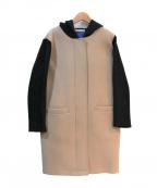 khaju(カージュ)の古着「ボンディングフーデッドコート」