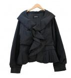 EPOCA(エポカ)の古着「中綿フリルジャケット」