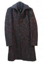 TORNADO MART(トルネードマート)の古着「ジャガードレイヤードコート」