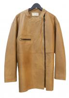 77circa(ナナナナサーカ)の古着「make euro style rider's jacket」|ベージュ